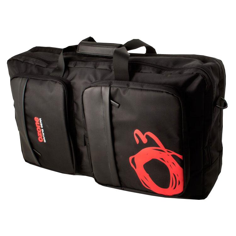 """Sac, sacoche, housse Ozone LanPcK Sacoche / sac à dos pour ordinateur portable gamer (jusqu'à 17"""") et accessoires (clavier, souris, casque...)"""