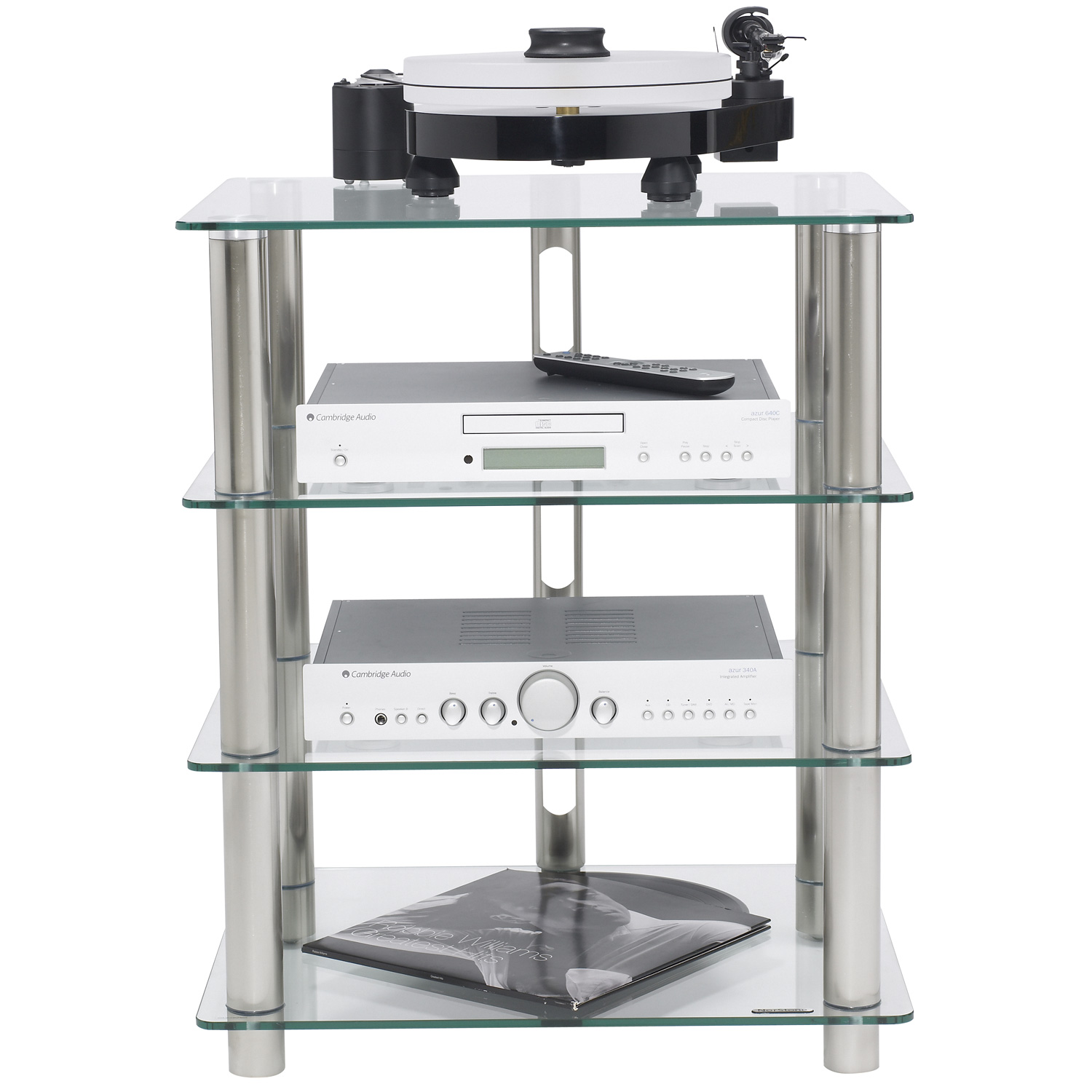 Norstone epur 4 epur4 achat vente meuble tv sur for Meuble tv chaine hifi