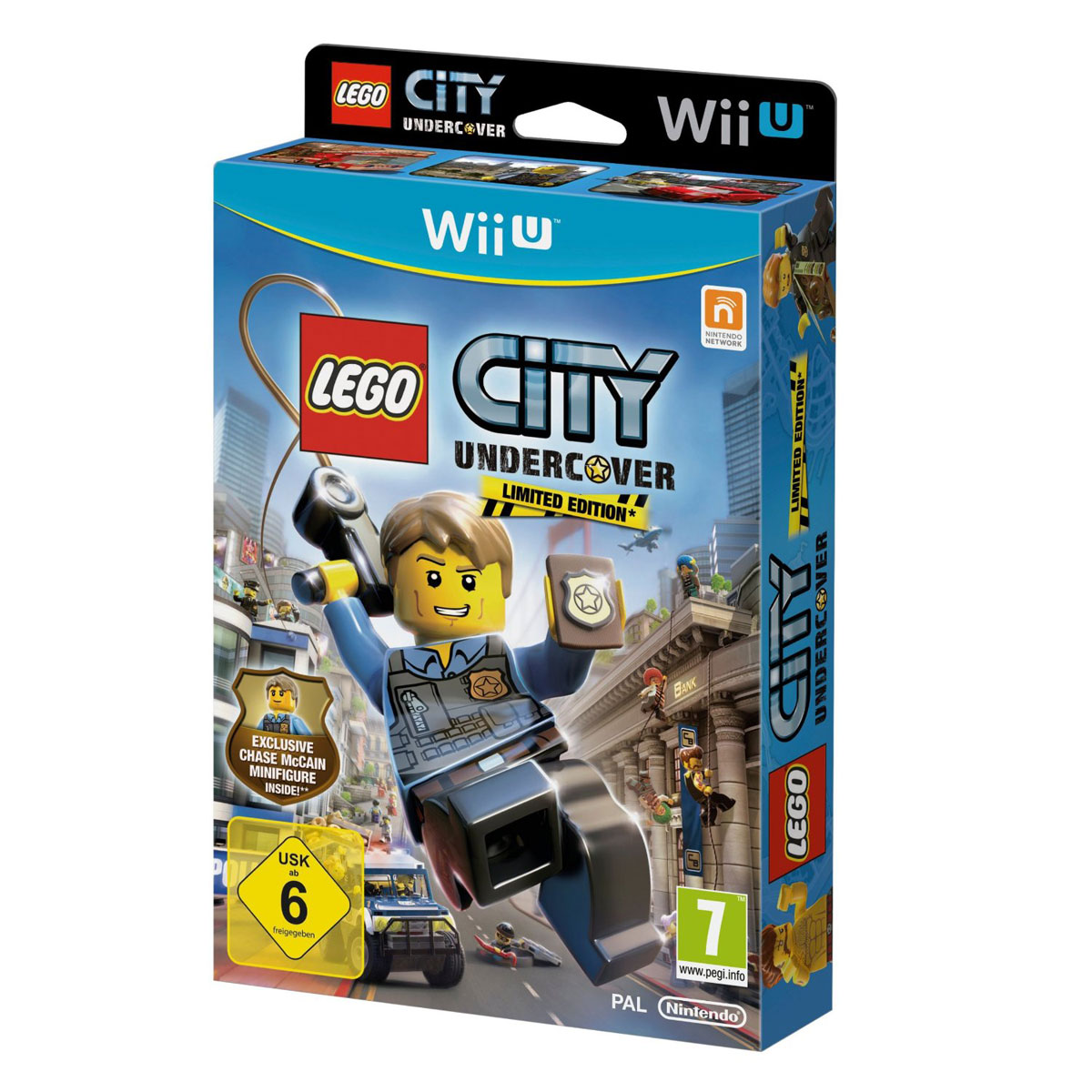 lego city undercover edition limit e wii u jeux wii u nintendo sur ldlc. Black Bedroom Furniture Sets. Home Design Ideas
