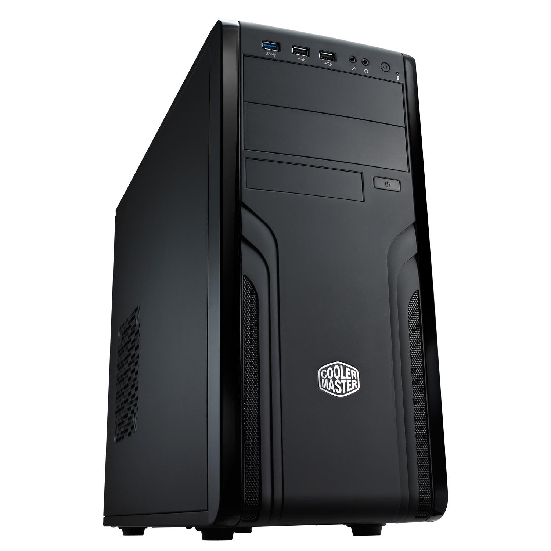 Boîtier PC Cooler Master Force 500 Boîtier Moyen Tour Noir