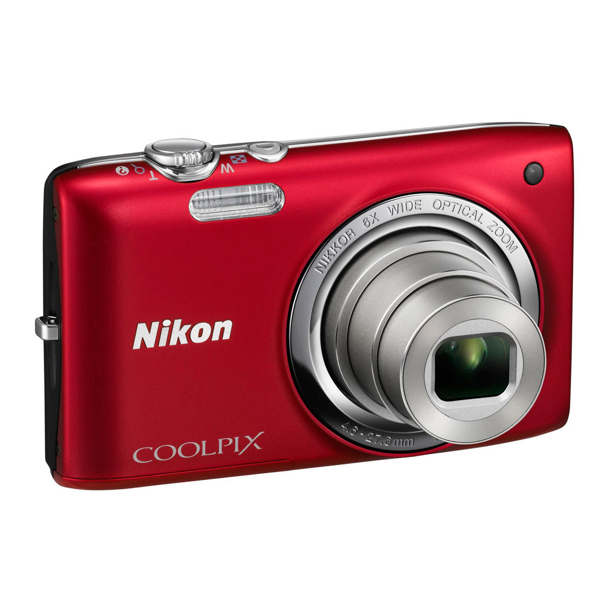 nikon coolpix s2700 rouge appareil photo num rique nikon. Black Bedroom Furniture Sets. Home Design Ideas