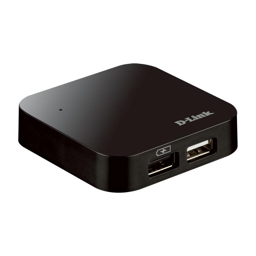 Hub USB / Firewire D-Link DUB-H4 Hub 4 ports USB 2.0 (alimentation externe)