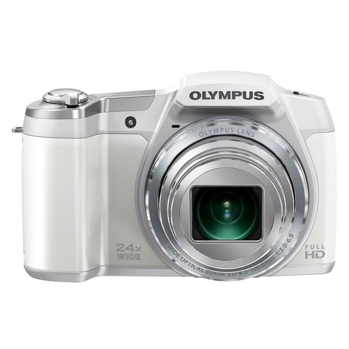 olympus sz 16 blanc appareil photo num rique olympus sur. Black Bedroom Furniture Sets. Home Design Ideas