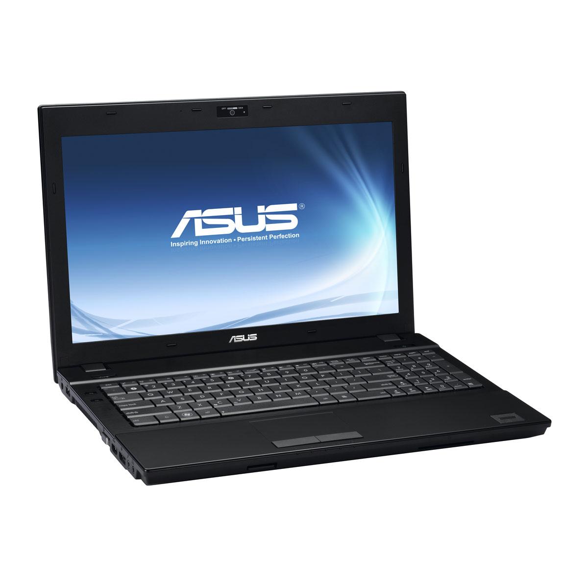 """PC portable ASUS B53V-S4050G Intel Core i5-3230M 4 Go 500 Go 15.6"""" LED NVIDIA NVS 5200M Graveur DVD Wi-Fi N/Bluetooth Webcam Windows 7 Professionnel 64 bits / Windows 8 Pro (garantie constructeur 1 an)"""