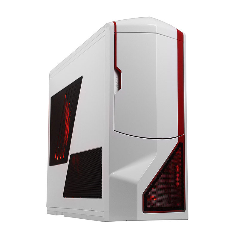 nzxt phantom blanc rouge edition limit e bo tier. Black Bedroom Furniture Sets. Home Design Ideas
