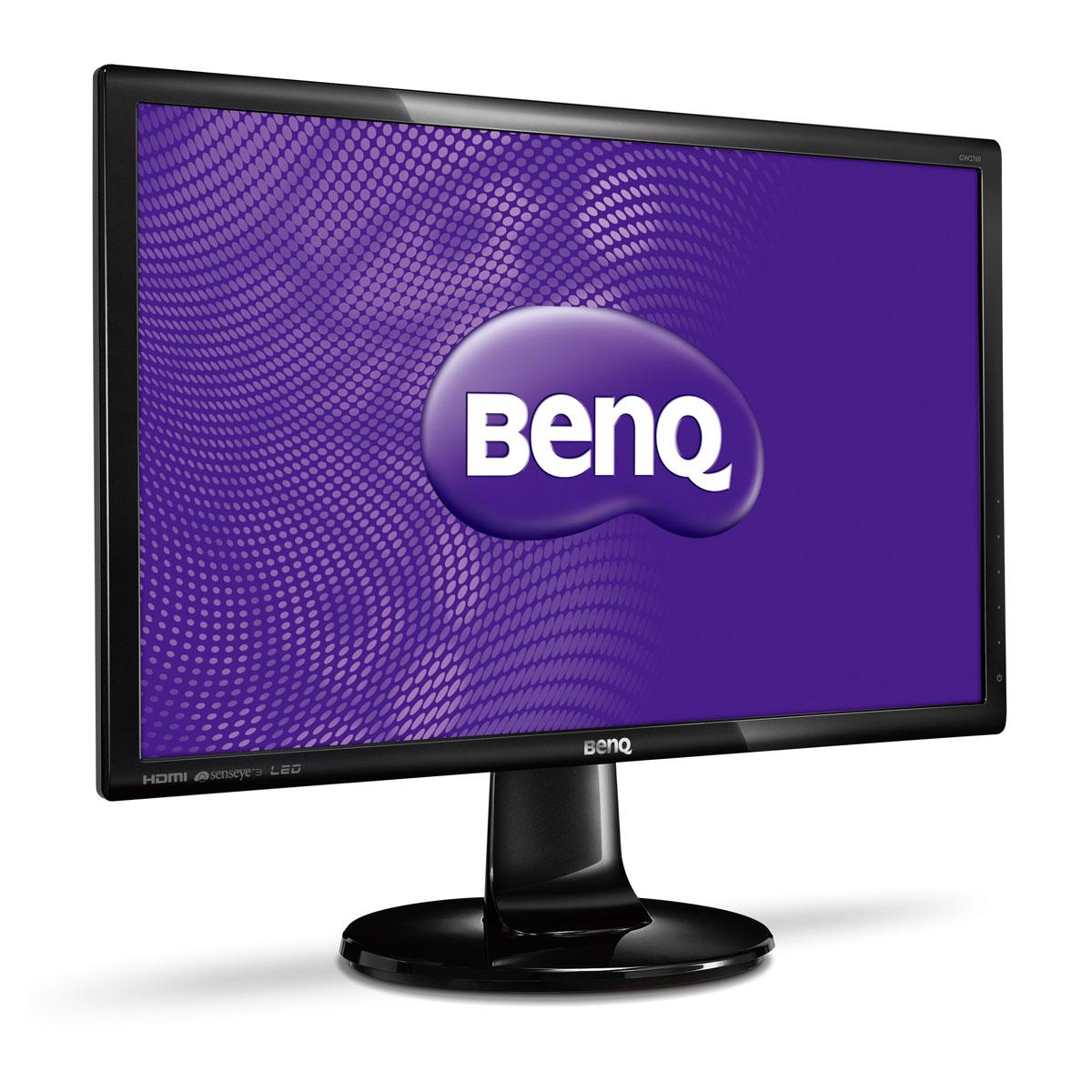 """Ecran PC BenQ 27"""" LED - GW2760HM 1920 x 1080 pixels - 4 ms (gris à gris) - Format large 16/9 - Dalle VA - Noir"""