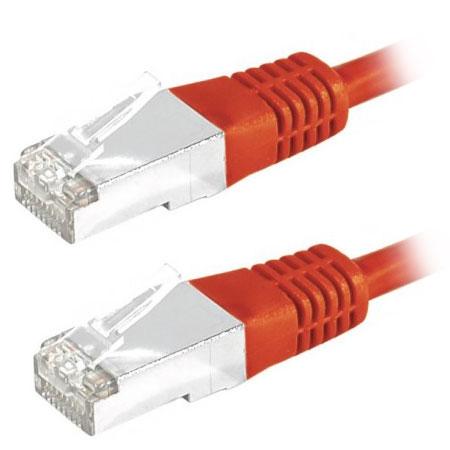 Câble RJ45 Câble RJ45 catégorie 6 S/FTP 3 m (Rouge) Câble RJ45 catégorie 6 S/FTP 3 m (Rouge)