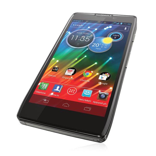 Motorola razr hd mobile smartphone motorola sur ldlc for Photo ecran motorola
