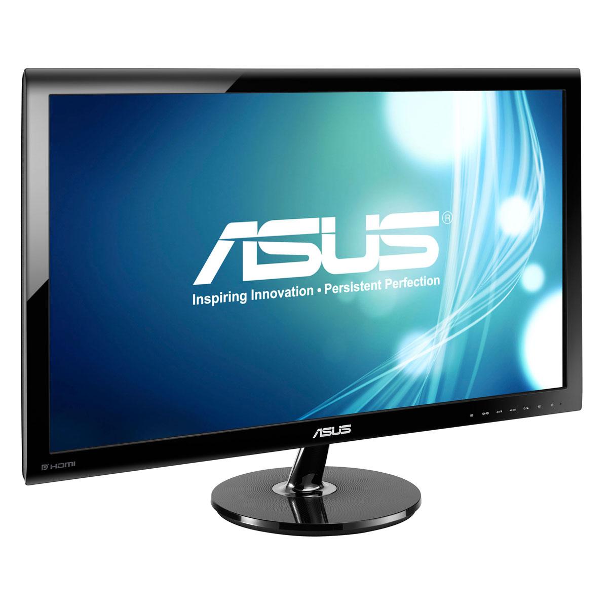 """Ecran PC ASUS 27"""" LED - VS278Q 1920 x 1080 pixels - 1 ms (gris à gris) - Format large 16/9 - 2x HDMI - DisplayPort (garantie constructeur 3 ans)"""