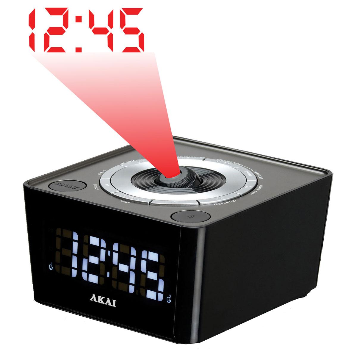 Radio & radio réveil Akai ACP-64KT Radio réveil projecteur