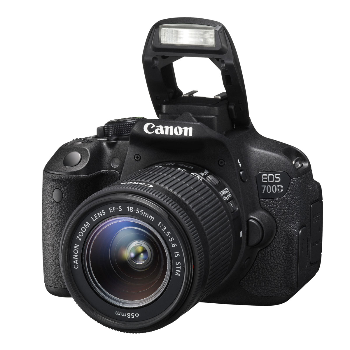 Canon eos 700d ef s 18 55mm f 3 5 5 6 is stm appareil for Ecran numerique photo