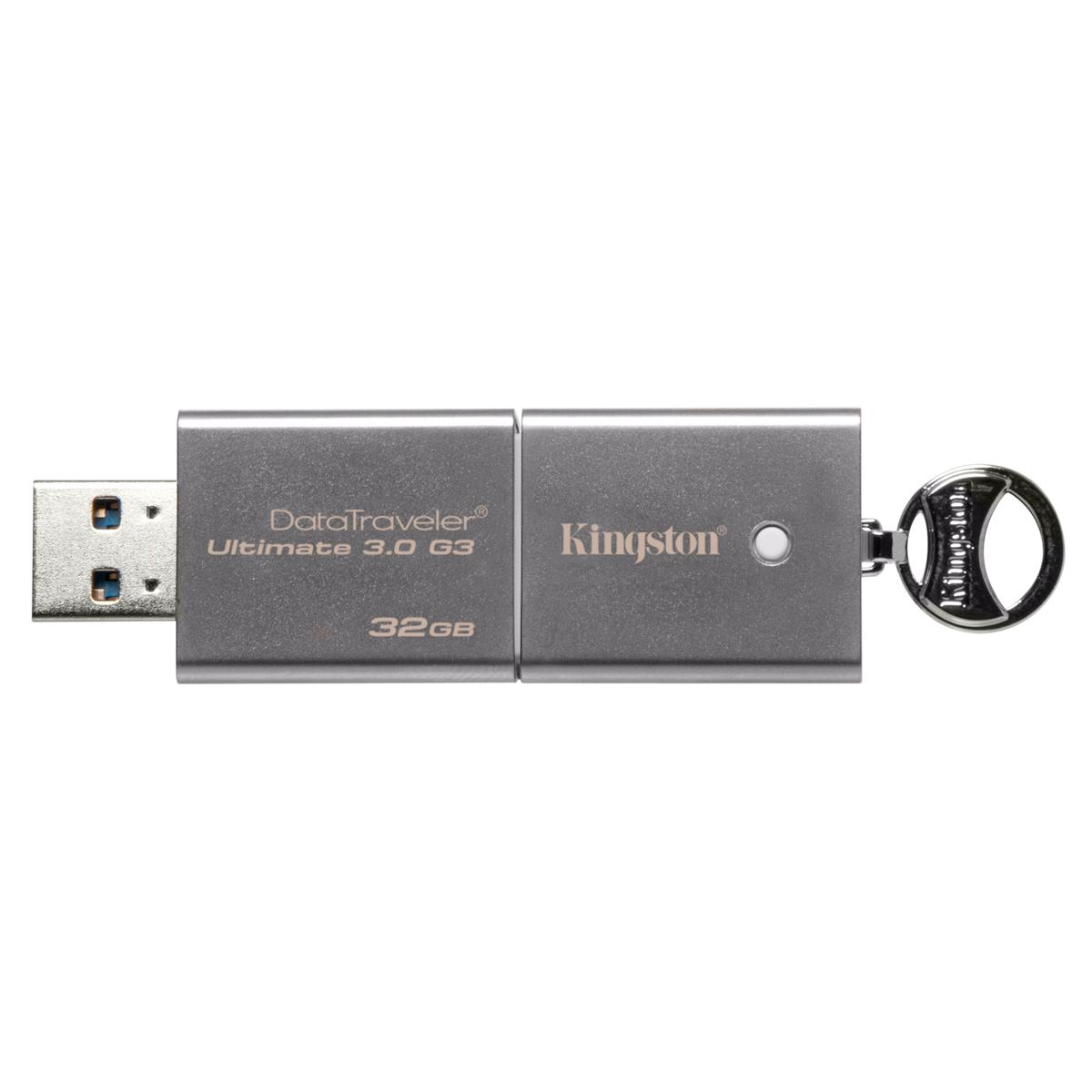 Clé USB Kingston DataTraveler Ultimate G3 32 Go Clé USB 3.0 32 Go (garantie constructeur 5 ans)