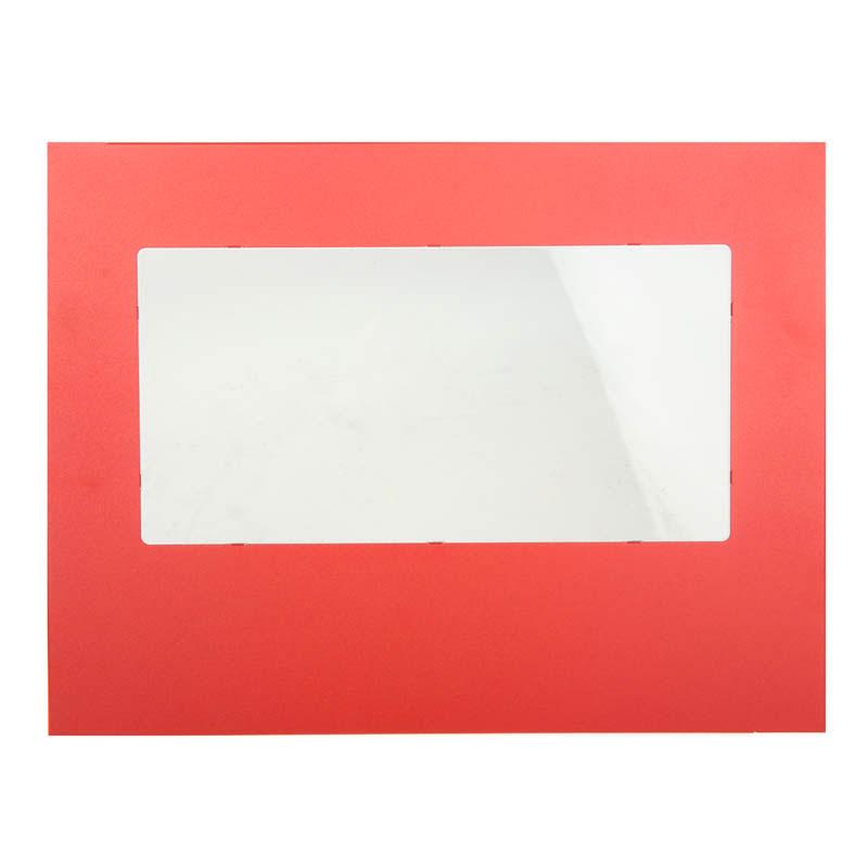 Panneaux latéraux PC BitFenix Prodigy Window Side Panel Rouge Panneau latéral avec fenêtre pour boitier Bitfenix Prodigy