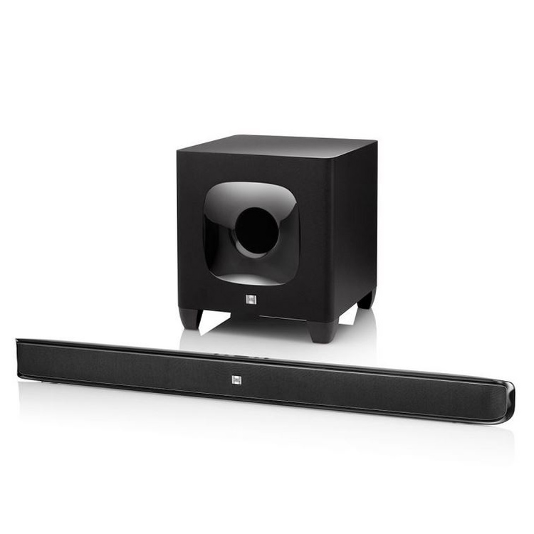 Ensemble home cinéma JBL Cinema SB400 Barre de son avec caisson de basses sans fil et fonction Bluetooth