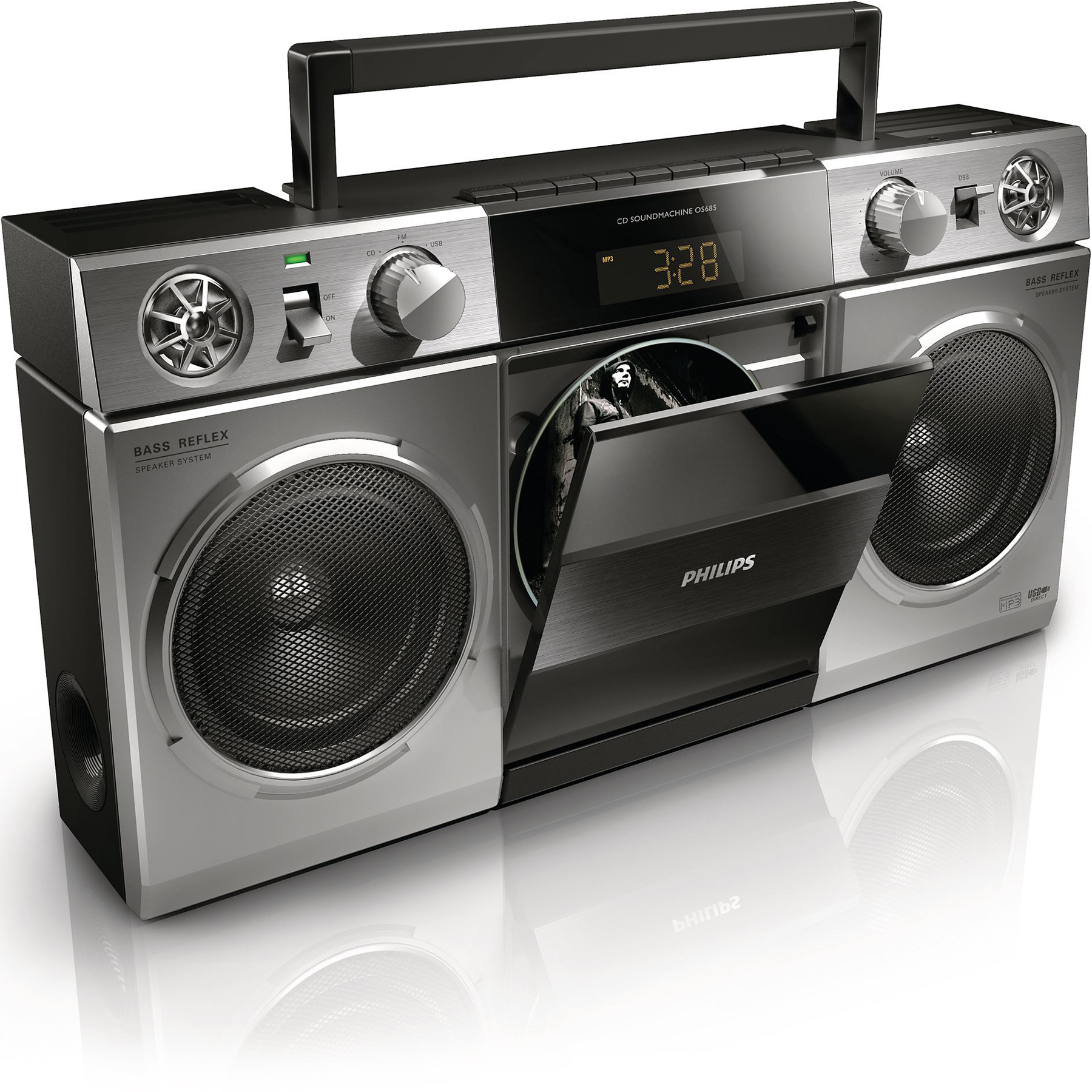 philips os685 radio radio r veil philips sur ldlc. Black Bedroom Furniture Sets. Home Design Ideas