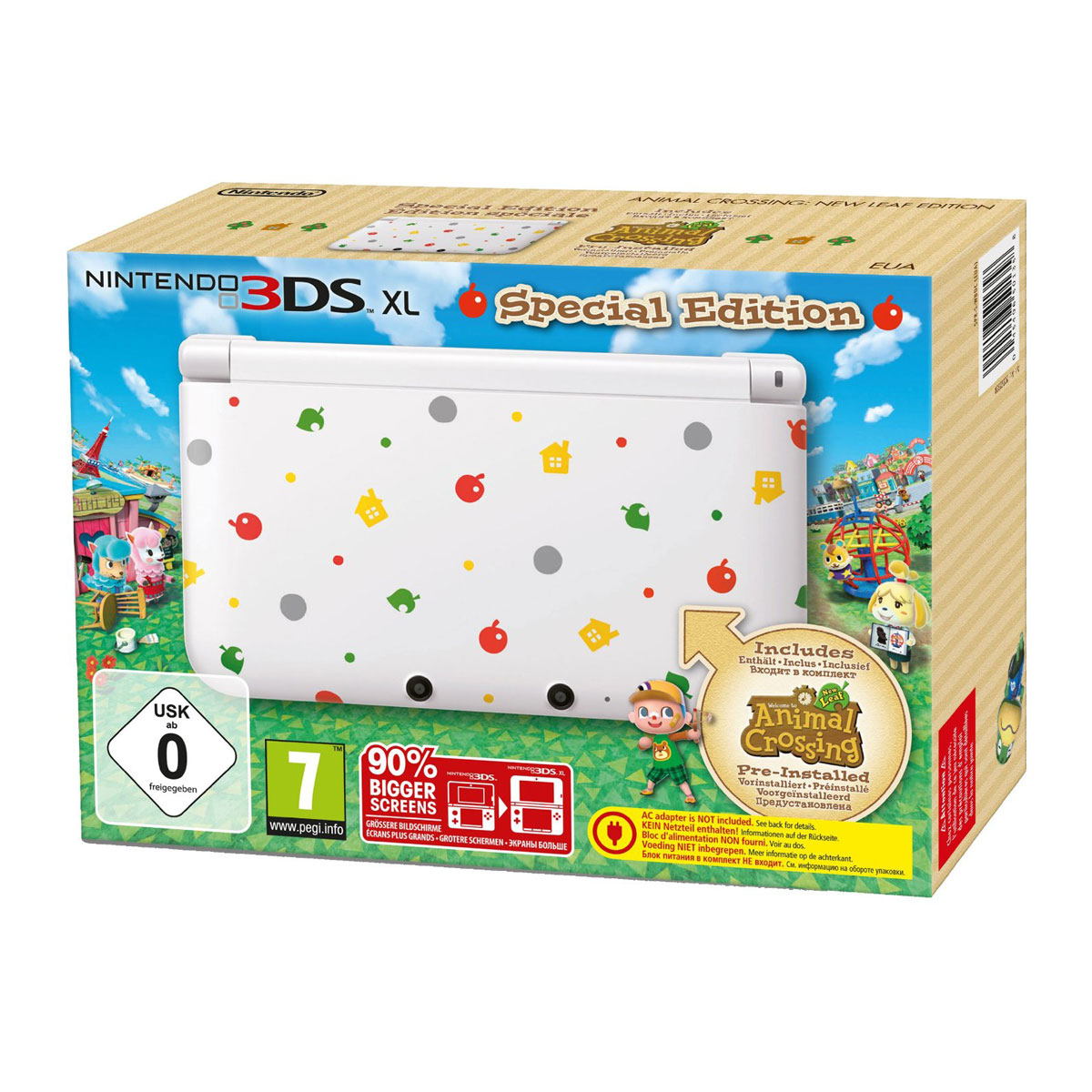 comment c p nintendo ds xl blanche animal crossing new leaf edition speciale