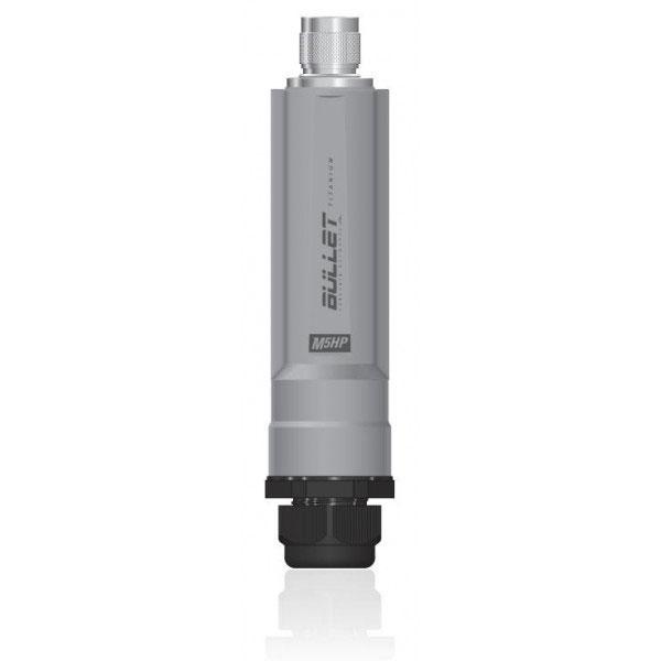 Point d'accès WiFi Ubiquiti Bullet M5 TITANIUM Point d'accès extérieur Wi-Fi A/N 5 GHz PoE