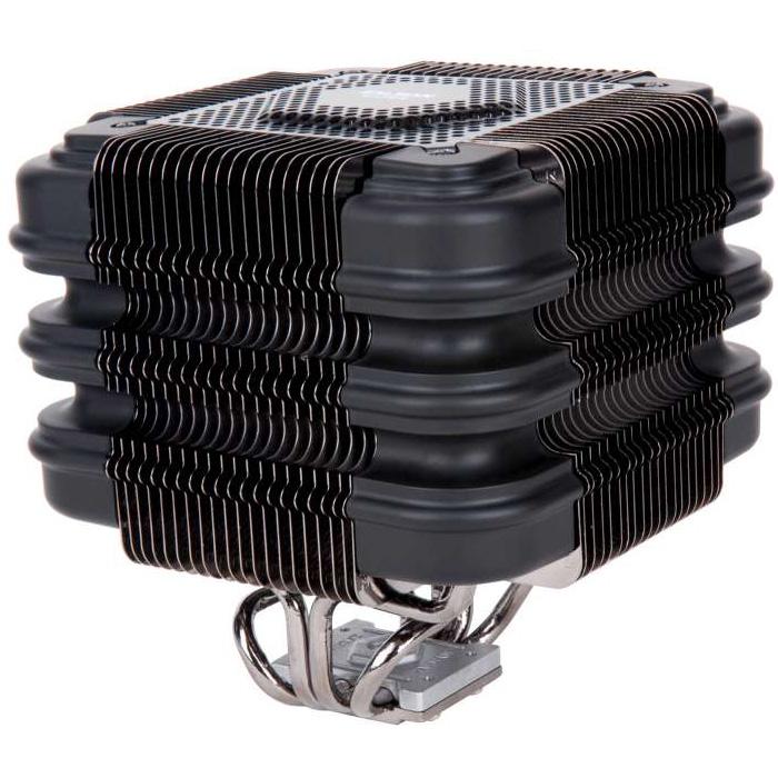 Ventilateur processeur Zalman FX100 Cube Ventilateur pour processeur (pour socket Intel 775/1150/1151/1155/1156/1366/2011 & AMD AM2/AM2+/AM3/AM3+/FM1/FM2)