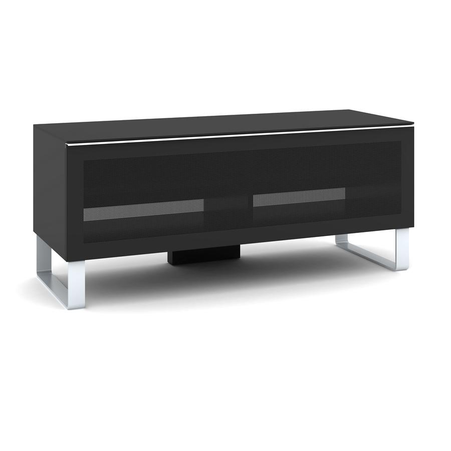 Elmob exclusive ex 120 03 noir meuble tv elmob sur ldlc - Meuble television ecran plat ...