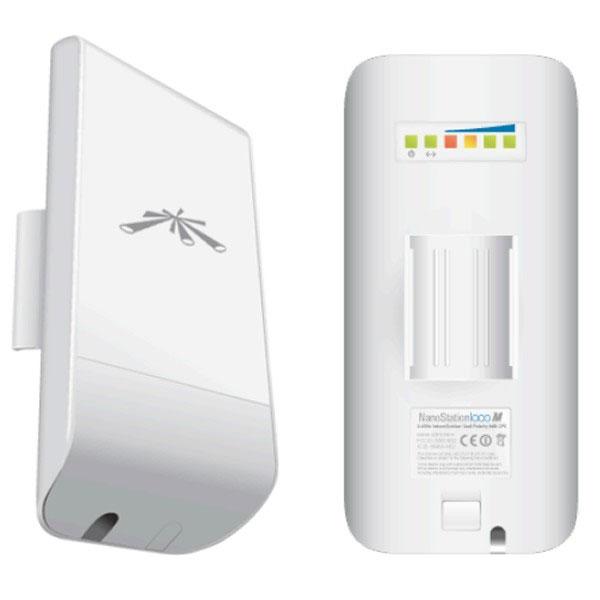 Point d'accès WiFi Ubiquiti Loco M2 Point d'accès/CPE extérieur Wi-Fi B/G 2 GHz PoE avec antenne intégrée