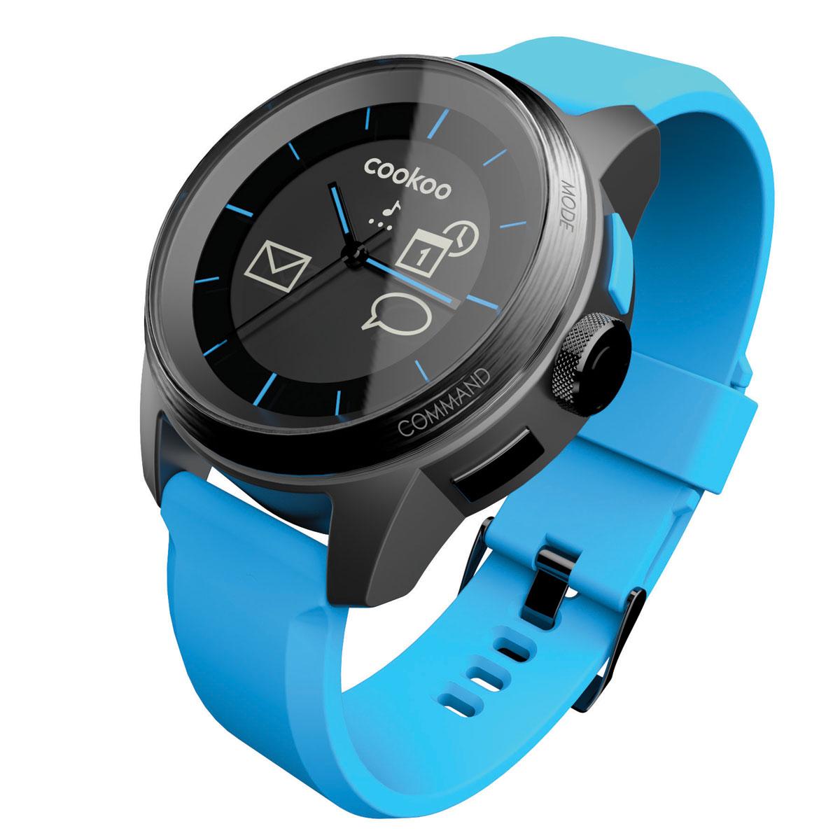 cookoo watch noir bleu montre bracelets connect s cookoo sur ldlc. Black Bedroom Furniture Sets. Home Design Ideas