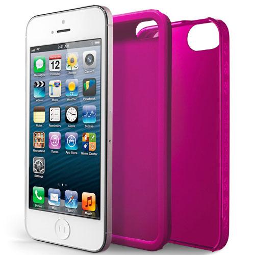 Etui téléphone Case Scenario Skin & Bones Protectve Cover Rose Apple iPhone 5 Coque de protection pour Apple iPhone 5