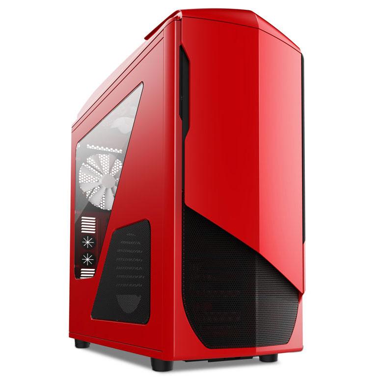 Boîtier PC NZXT Phantom 530 (rouge) Boîtier Grand Tour pour gamer avec fenêtre