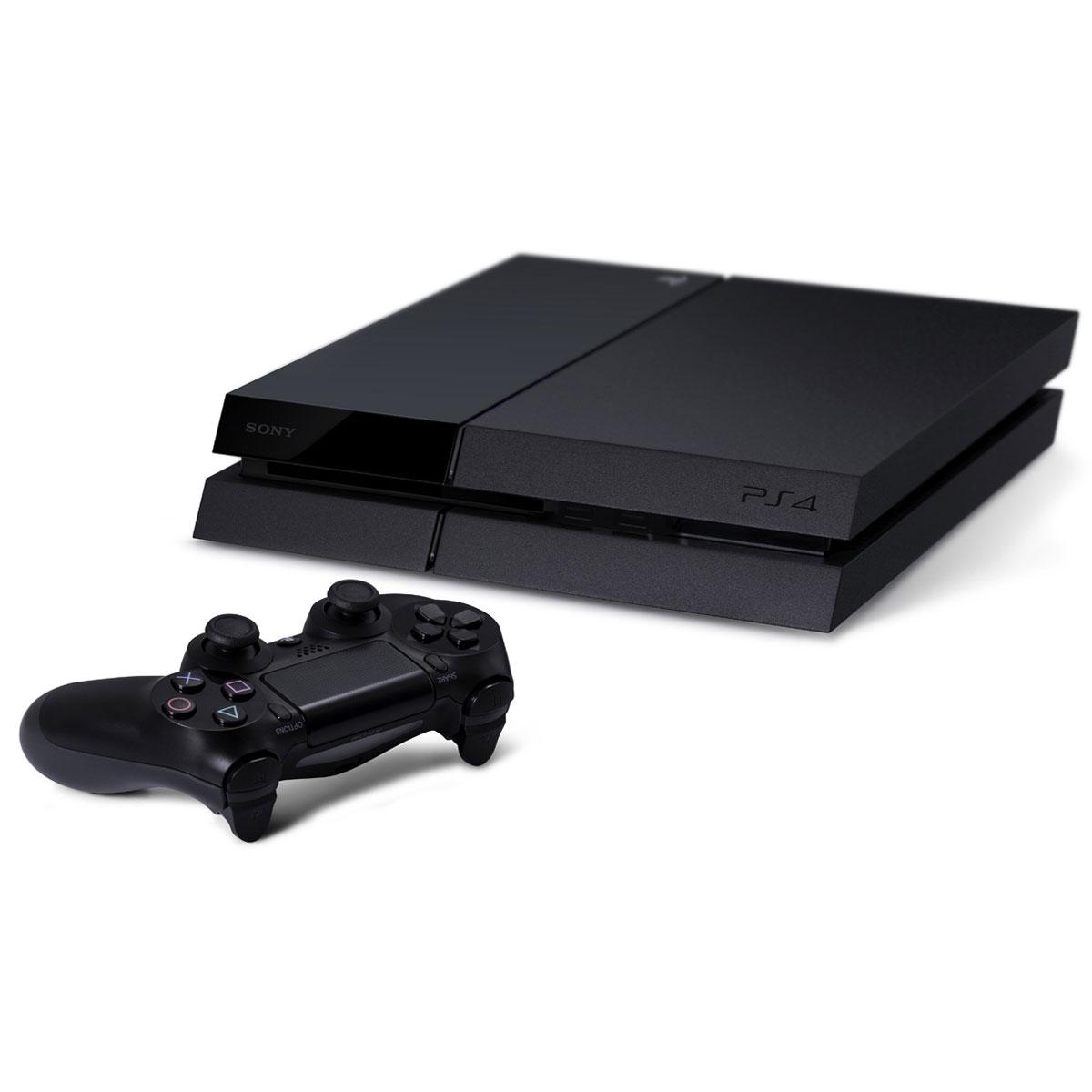 Console PS4 Sony PlayStation 4 (500 Go) Console de jeux-vidéo nouvelle génération avec disque dur 500 Go et manette sans fil