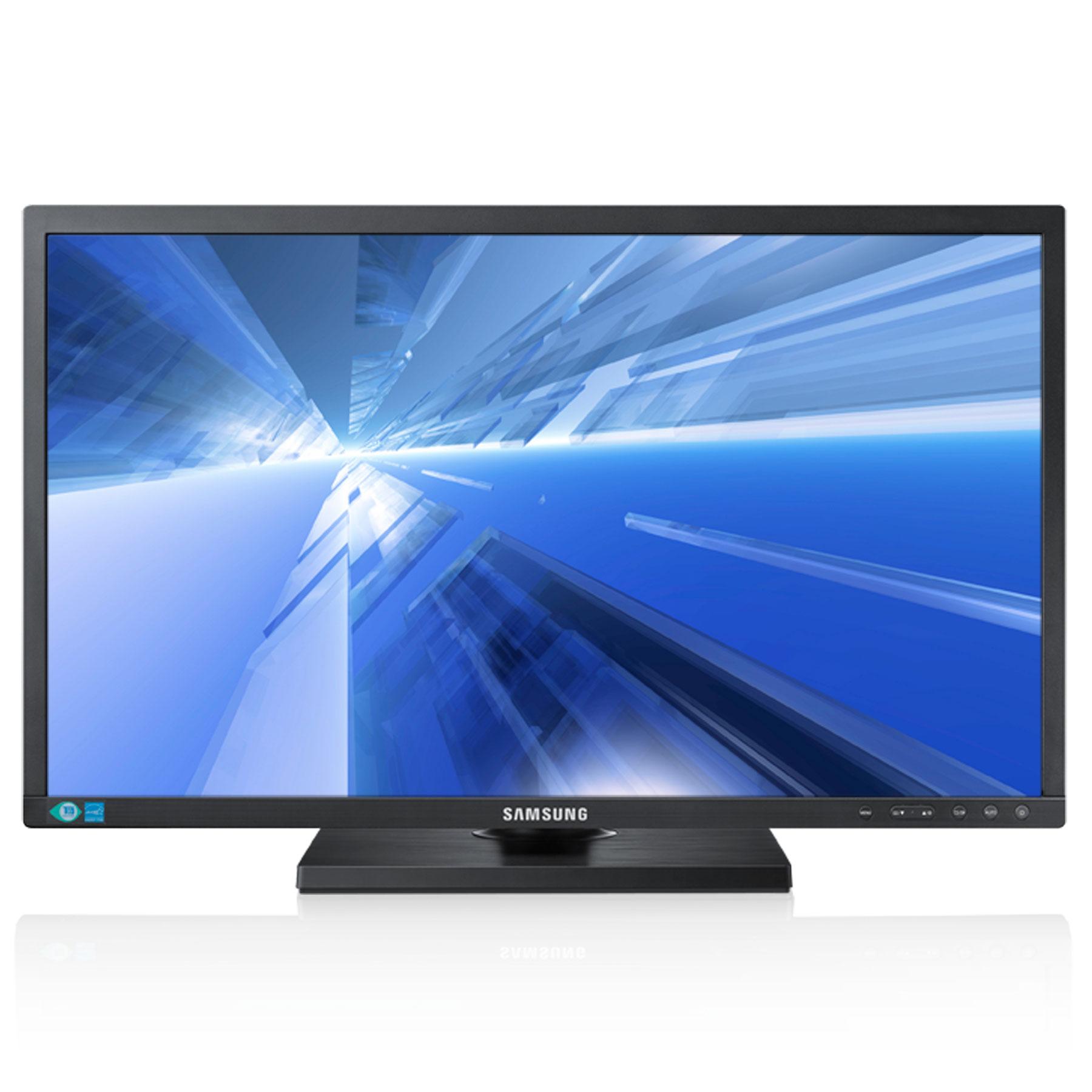 """Ecran PC Samsung 21.5"""" LED - SyncMaster S22C650D 1920 x 1080 pixels - 5 ms (gris à gris) - Format large 16/9 - Pivot - Dalle PLS - DisplayPort - Hub USB - Noir (garantie 3 ans constructeur)"""