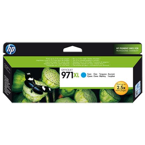 Cartouche imprimante HP Officejet 971XL - CN626AE - Cartouche d'encre cyan HP Officejet 971XL - CN626AE - Cartouche d'encre cyan