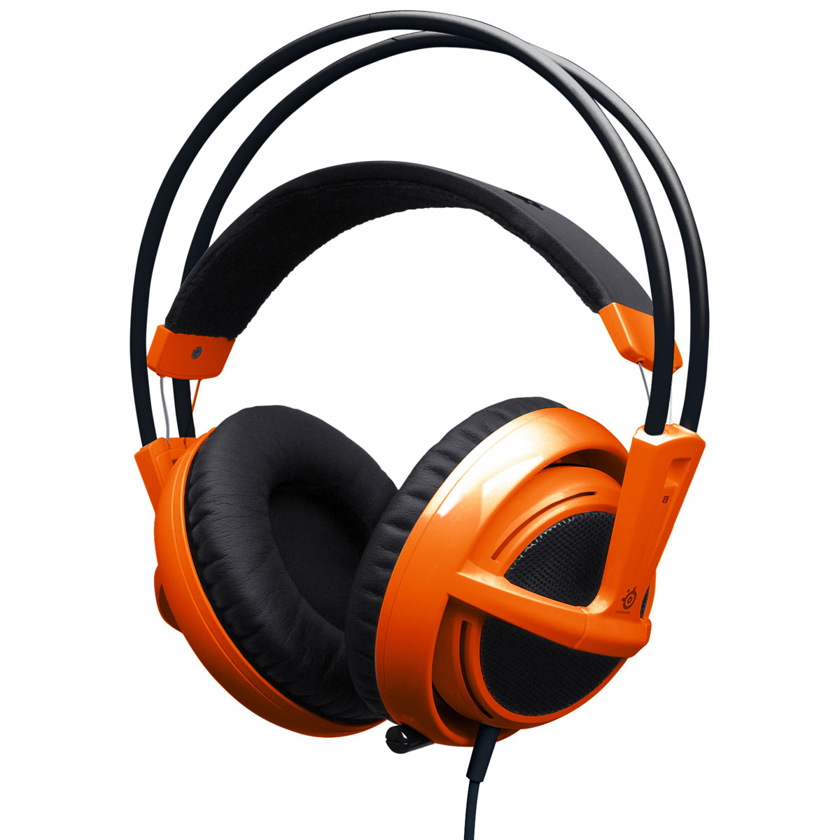 steelseries siberia v2 orange micro casque steelseries sur ldlc. Black Bedroom Furniture Sets. Home Design Ideas