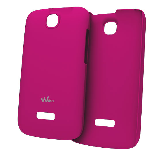 Etui téléphone Wiko Coque Ultra Fine Rose Cink + Coque pour Wiko Cink +