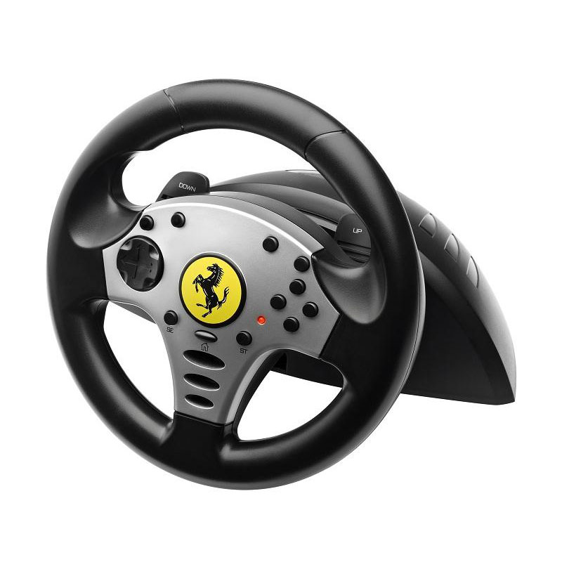 thrustmaster ferrari challenge racing wheel pc ps3 volant pc thrustmaster sur ldlc. Black Bedroom Furniture Sets. Home Design Ideas