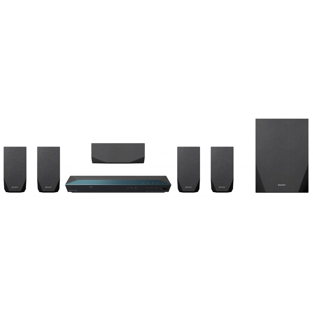 Ensemble home cinéma Sony BDV-E2100 Ensemble Home Cinema Blu-ray 3D 5.1 Wi-Fi, NFC et Bluetooth