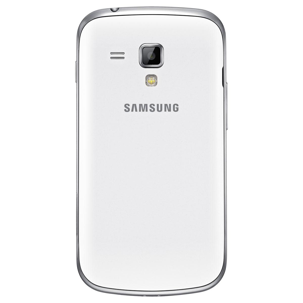 Samsung galaxy trend gt s7560 blanc mobile smartphone - Portable samsung galaxy trend lite blanc ...