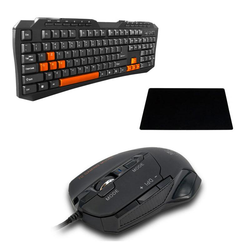 amarina gaming pack pack clavier souris amarina sur ldlc. Black Bedroom Furniture Sets. Home Design Ideas