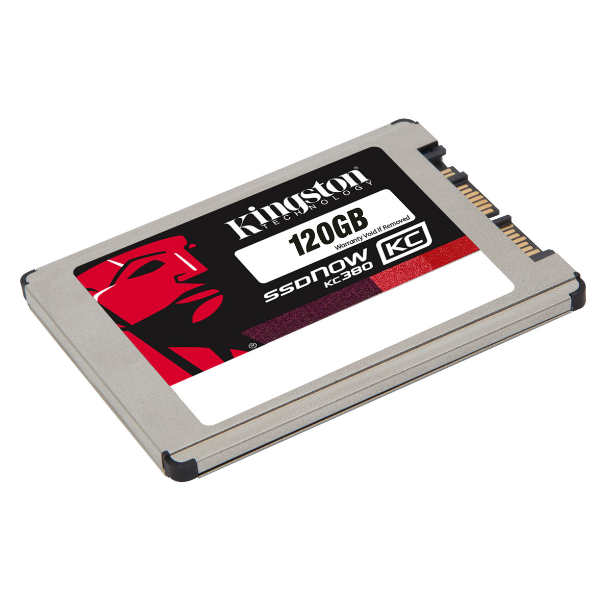 "Disque SSD Kingston SSDNow KC380 Series 120 Go SSD 120 Go 1.8"" 5mm Micro SATA 6Gb/s"