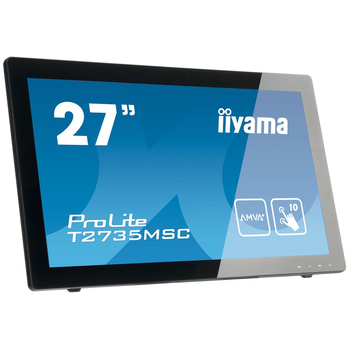 iiyama 27 led tactile prolite t2735msc ecran pc. Black Bedroom Furniture Sets. Home Design Ideas