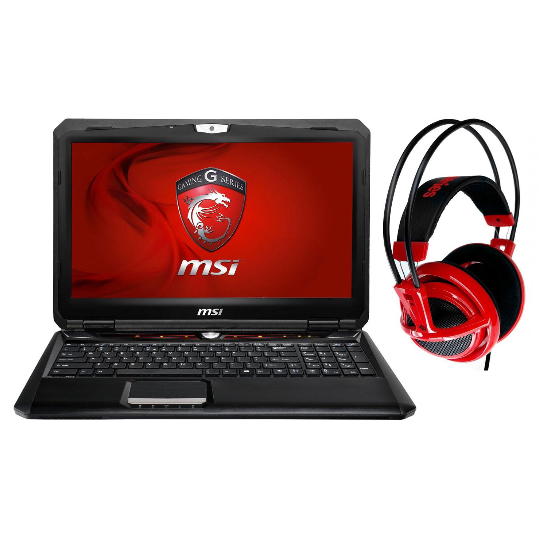 "PC portable MSI GX60 3AE-212 Hitman Edition + SteelSeries Siberia v2 Rouge offert ! AMD Quad-Core A10-5750M 4 Go 500 Go 15.6"" LED AMD Radeon HD 7970M Graveur DVD Wi-Fi N/Bluetooth Webcam Windows 8 64 bits (garantie constructeur 1 an)"