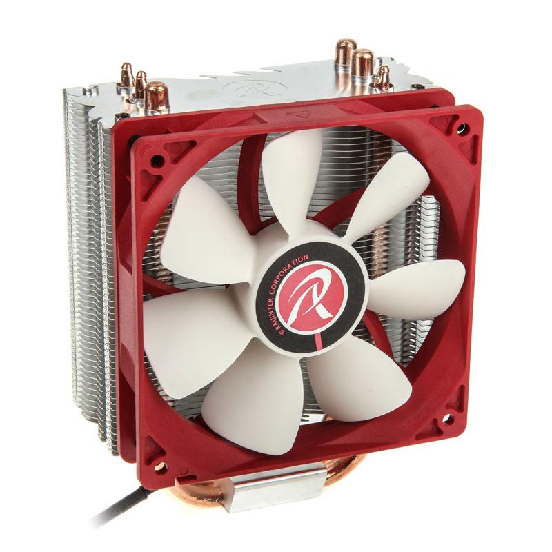 Ventilateur processeur Raijintek Themis Ventilateur de processeur (pour socket Intel 775/1150/1150/1151/1155/1156/1366/2011 et AMD AM2/AM2+/AM3/AM3+/FM1/FM2)