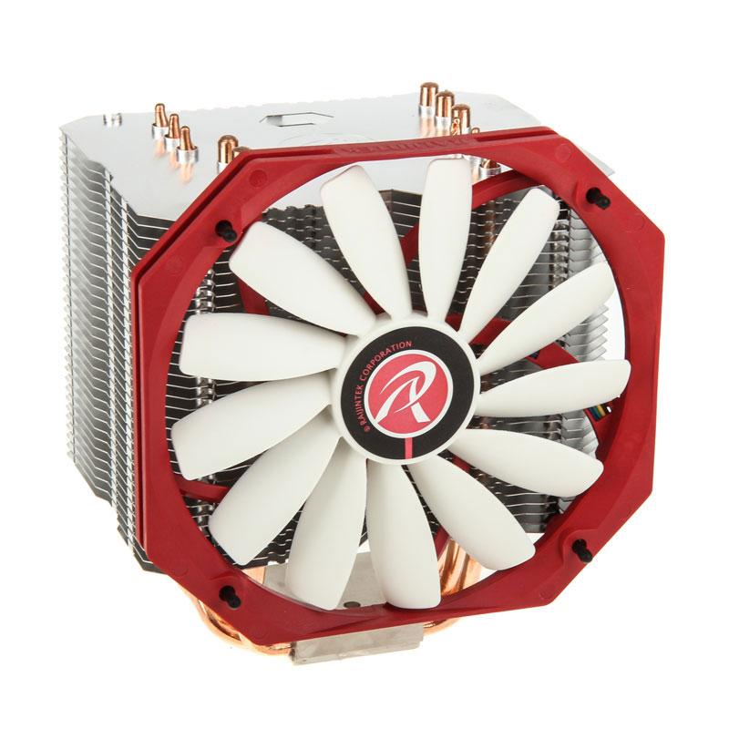 Ventilateur processeur Raijintek Ereboss Ventilateur de processeur (pour socket Intel 775/1150/1150/1151/1155/1156/1366/2011 et AMD AM2/AM2+/AM3/AM3+/FM1/FM2)