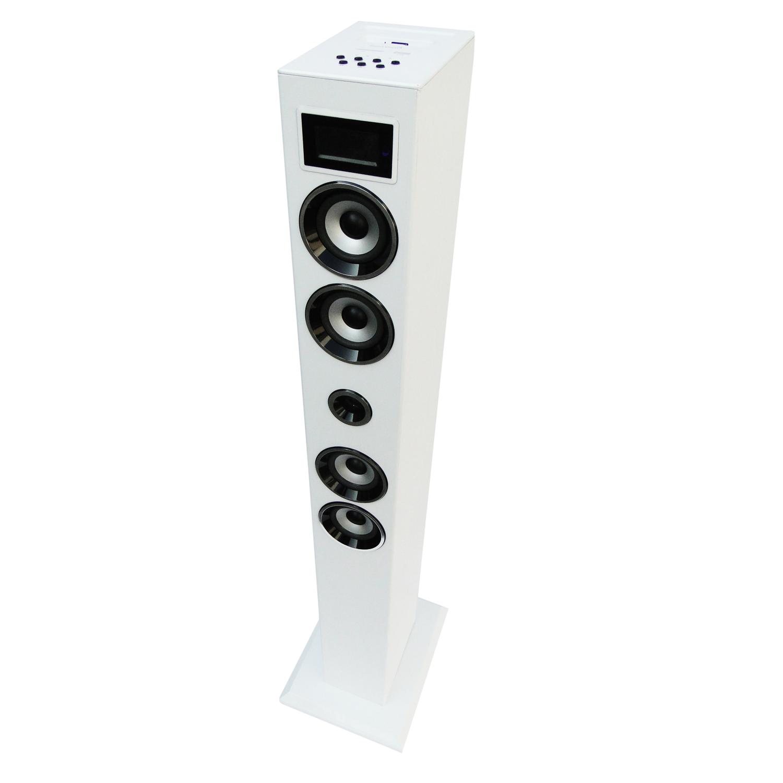 soundvision sv t04 bt blanc dock enceinte bluetooth. Black Bedroom Furniture Sets. Home Design Ideas