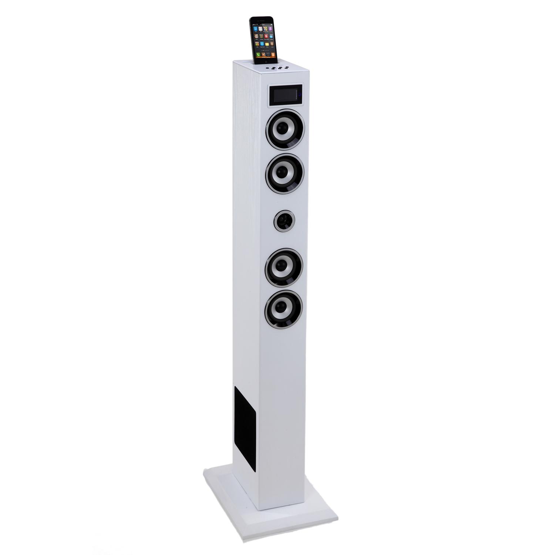 soundvision sv t04 bt blanc dock enceinte bluetooth soundvision sur ldlc. Black Bedroom Furniture Sets. Home Design Ideas