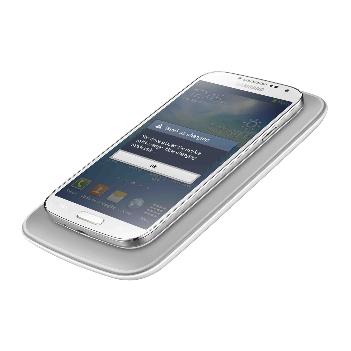 samsung tapis de recharge induction ep wi950 blanc chargeur t l phone samsung sur ldlc. Black Bedroom Furniture Sets. Home Design Ideas