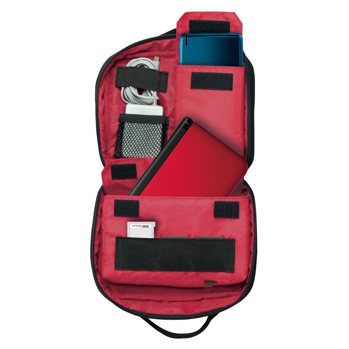 Hori sacoche de transport mario nintendo 3ds 3ds xl ds for Housse nintendo 3ds xl