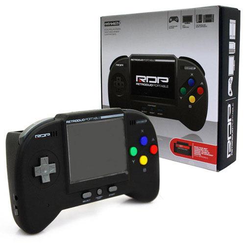 retro duo portable noire 900053 achat vente petites consoles sur. Black Bedroom Furniture Sets. Home Design Ideas