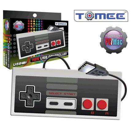 Joypad Tomee NES USB Controller (PC/Mac) Manette NES filaire USB pour PC et Mac