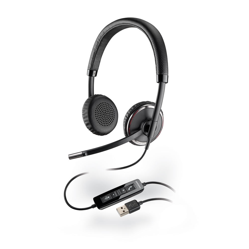 Micro-casque Plantronics Blackwire C520 Casque-micro stereo USB