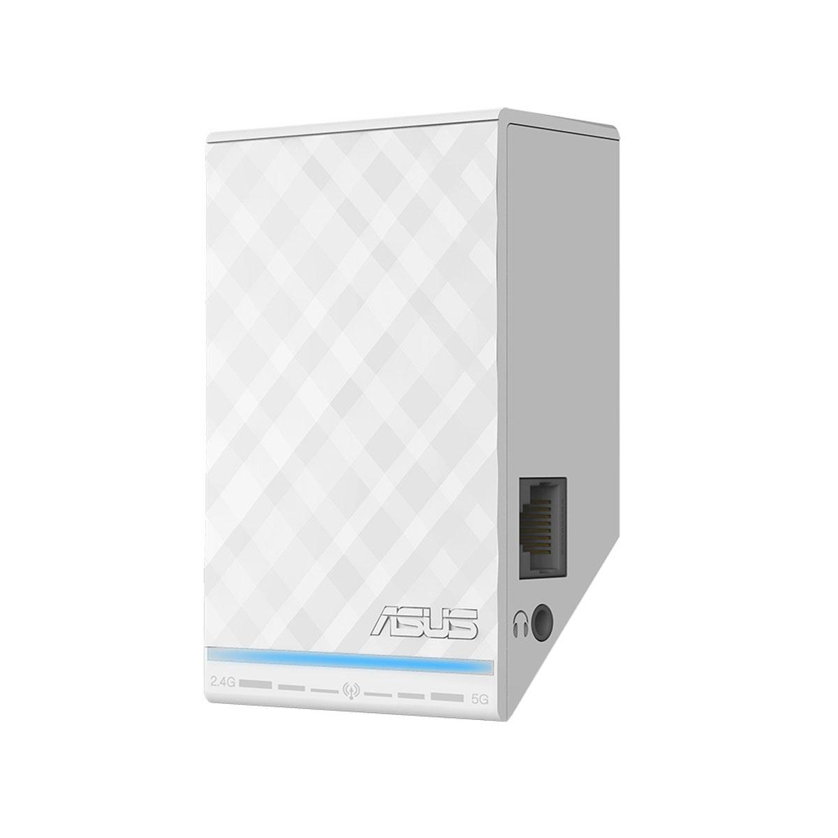 Point d'accès WiFi ASUS RP-N53 Repeteur Dual N600 Point d'accès sans fil Wi-Fi N 600 Mbps Dual band