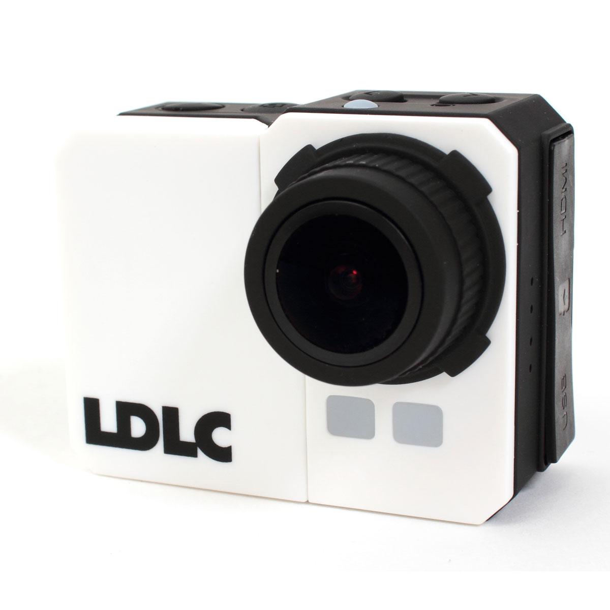 Caméra sportive LDLC Touch C1 Caméscope Full HD pour sportif à mémoire flash avec Wi-Fi intégré + boîtier étanche IP68 + carte microSDHC 8 Go + kit d'accessoires